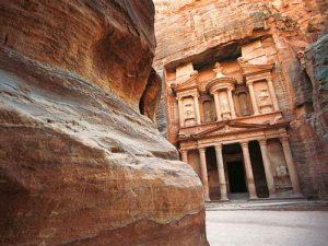 Vlucht naar Petra