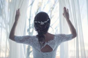 wachtende bruid