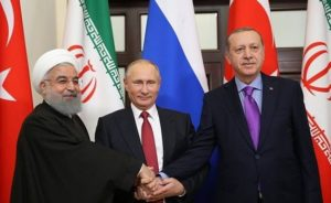 Iran-Turkije-Rusland